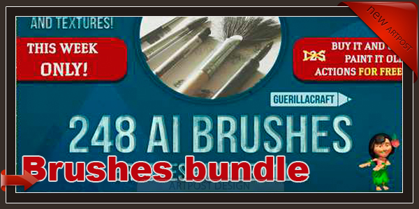 Brushes bundle vol.2 - 123481