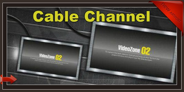DigitalJuice After Effects Project - Cable Channel