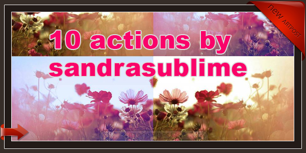 10 actions by sandrasublime