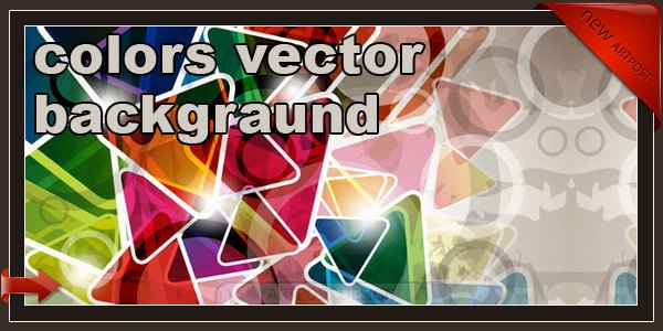 colors vector backgraund