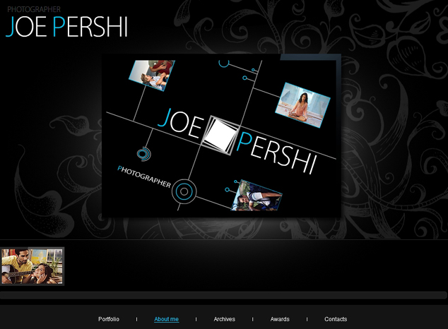 Flash Site Template # 27 307